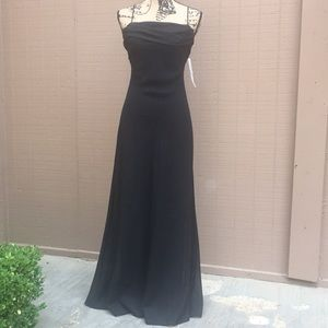 Sz4 Betsy And Dam Formal Black Dress